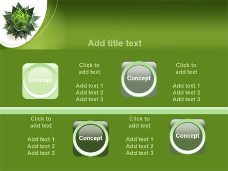 Aloe Plant PowerPoint Template Slide 18