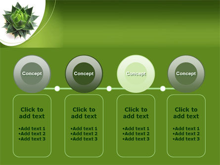 Aloe Plant PowerPoint Template Slide 5