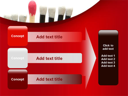 Safety Match PowerPoint Template Slide 12