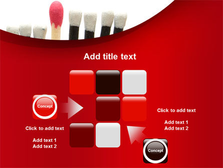 Safety Match PowerPoint Template Slide 16