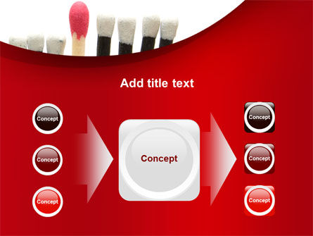 Safety Match PowerPoint Template Slide 17