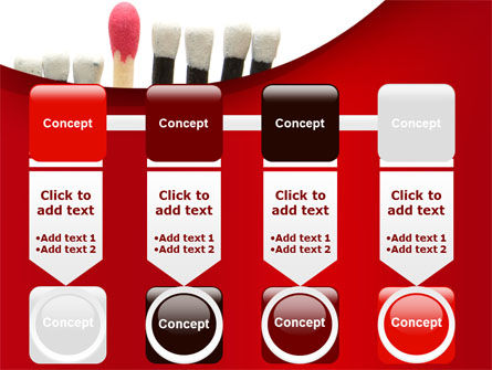 Safety Match PowerPoint Template Slide 18