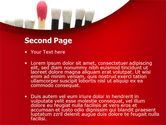 Safety Match PowerPoint Template#2