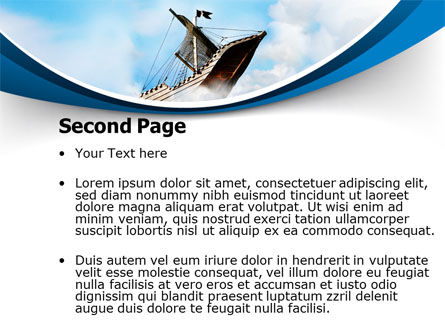 Sailing Boat PowerPoint Template Slide 2