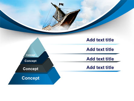 Sailing Boat PowerPoint Template, Slide 4, 08042, Business Concepts — PoweredTemplate.com