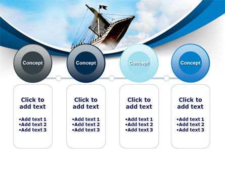Sailing Boat PowerPoint Template Slide 5