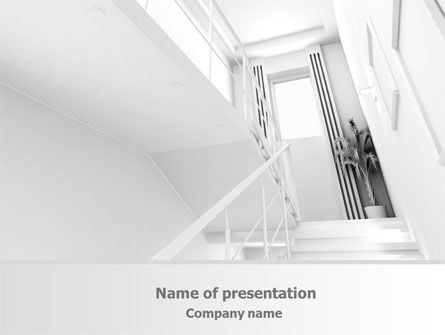 3D Interior Modeling Free PowerPoint Template, 08044, Careers/Industry — PoweredTemplate.com