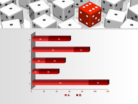 Dice Combination PowerPoint Template Slide 11