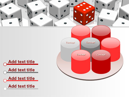 Dice Combination PowerPoint Template Slide 12