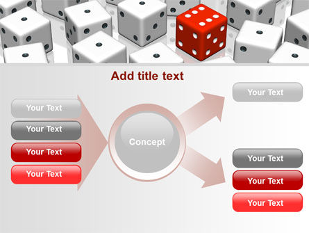 Dice Combination PowerPoint Template Slide 15
