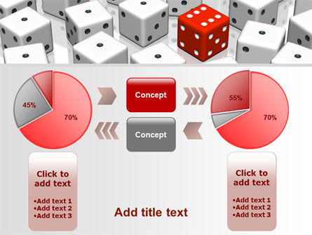 Dice Combination PowerPoint Template Slide 16