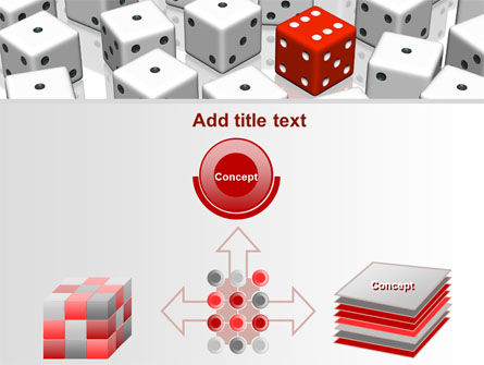 Dice Combination PowerPoint Template Slide 19