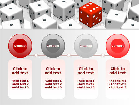 Dice Combination PowerPoint Template Slide 5
