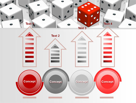 Dice Combination PowerPoint Template Slide 7