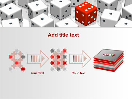 Dice Combination PowerPoint Template Slide 9