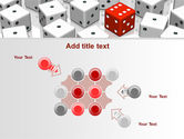 Dice Combination PowerPoint Template#10
