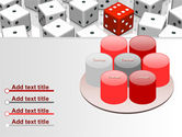 Dice Combination PowerPoint Template#12