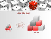 Dice Combination PowerPoint Template#13
