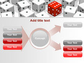 Dice Combination PowerPoint Template#15