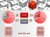 Dice Combination PowerPoint Template#16