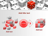 Dice Combination PowerPoint Template#17