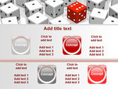 Dice Combination PowerPoint Template#18