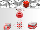 Dice Combination PowerPoint Template#19
