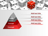 Dice Combination PowerPoint Template#4