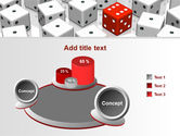 Dice Combination PowerPoint Template#6