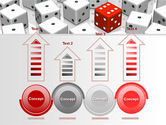 Dice Combination PowerPoint Template#7