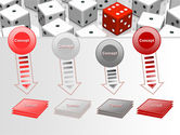 Dice Combination PowerPoint Template#8