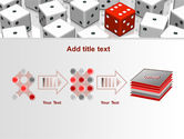 Dice Combination PowerPoint Template#9