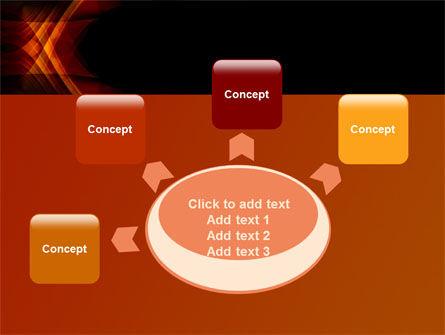Orange Geometric Pattern PowerPoint Template Slide 7