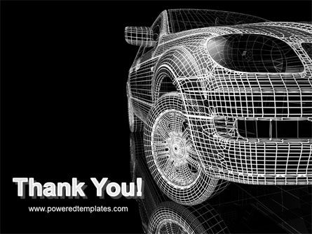 Car Modeling PowerPoint Template Slide 20