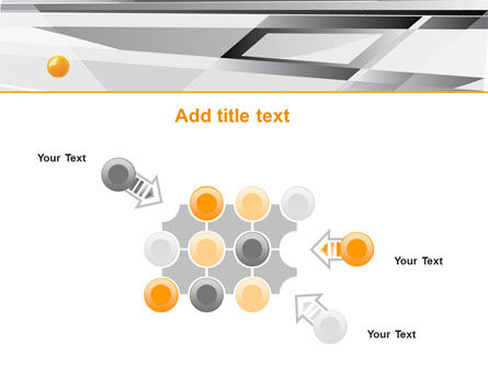 Gray Abstract Theme PowerPoint Template Slide 10