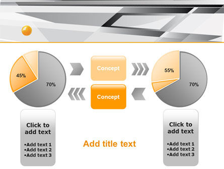 Gray Abstract Theme PowerPoint Template Slide 16