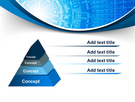 Blue Fusion Reactor PowerPoint Template Slide 12
