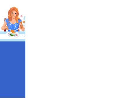 Healthy Menu PowerPoint Template, Slide 3, 08052, Health and Recreation — PoweredTemplate.com