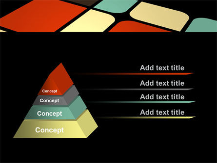 Color Sectors PowerPoint Template Slide 12