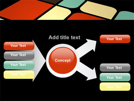 Color Sectors PowerPoint Template Slide 14