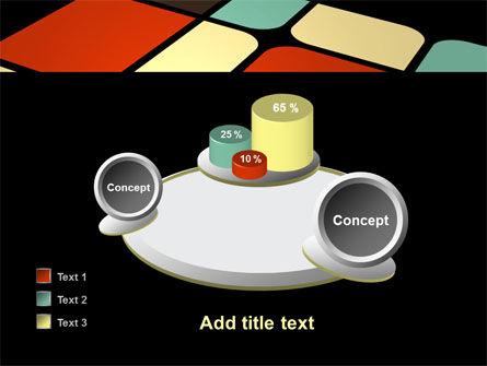 Color Sectors PowerPoint Template Slide 16