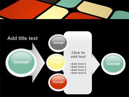 Color Sectors PowerPoint Template Slide 17