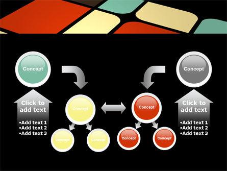 Color Sectors PowerPoint Template Slide 19