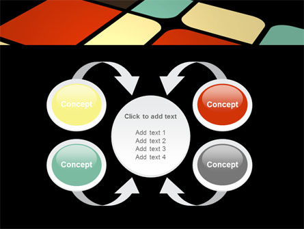 Color Sectors PowerPoint Template Slide 6