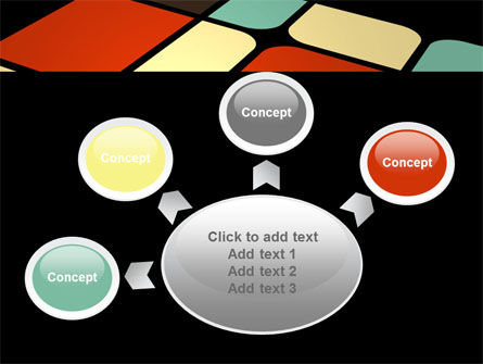 Color Sectors PowerPoint Template Slide 7