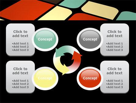 Color Sectors PowerPoint Template Slide 9