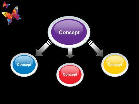 Color Butterfly PowerPoint Template, Slide 4, 08054, Nature & Environment — PoweredTemplate.com