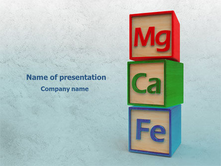 Simple Chemistry Powerpoint Template Backgrounds