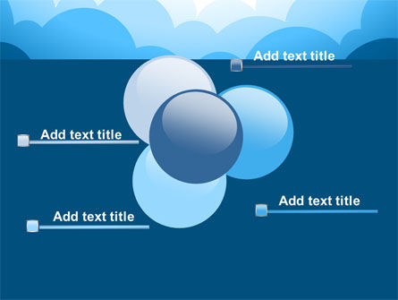 Blue Clouds PowerPoint Template Slide 10