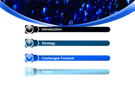 Falling Rain PowerPoint Template, Slide 3, 08059, Nature & Environment — PoweredTemplate.com